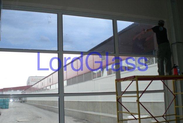 Тонировка окон и стекол зданий