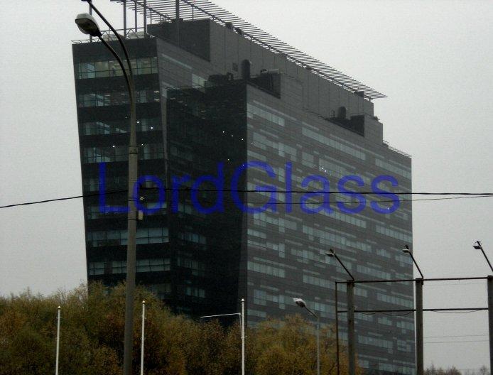 Изготовление и установка гнутого стеклопакета с тонировкой стекол